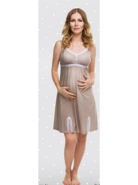 Нічна сорочка для вагітних і годуючих мам 1186