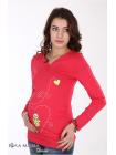 Лонгслів для вагітних Liv heart N14-6.16.3