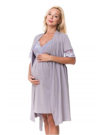 Халат+нічна сорочка для вагітних і годуючих мам 2179,1299