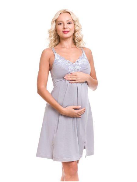 Нічна сорочка для вагітних і годуючих мам 1253