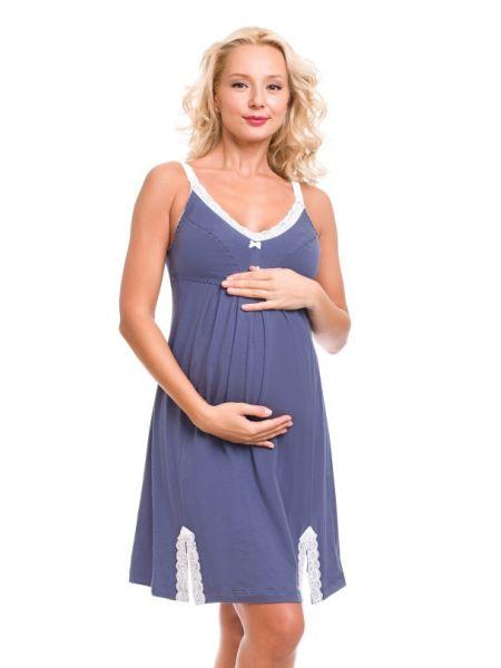 Нічна сорочка для вагітних і годуючих мам 1230